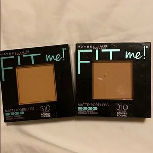 Maybelline fit me press powder shade 310